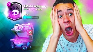 I have the cemetery * legendary New * in Clash Royale!