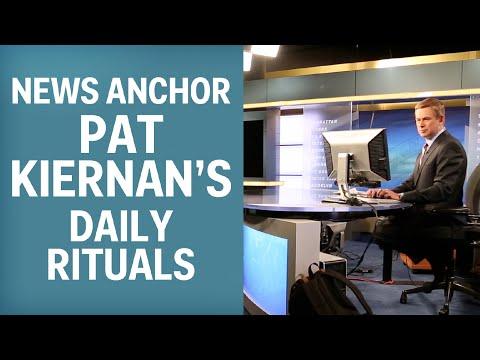 News Anchor Pat Kiernan's Daily Rituals