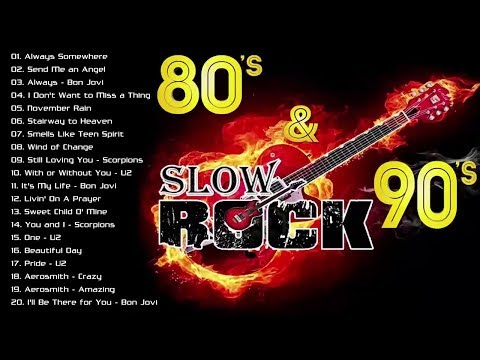 The Best Nonstop Slow Rock Love Songs - Nonstop Slow Rock 70 80 90's Playlist