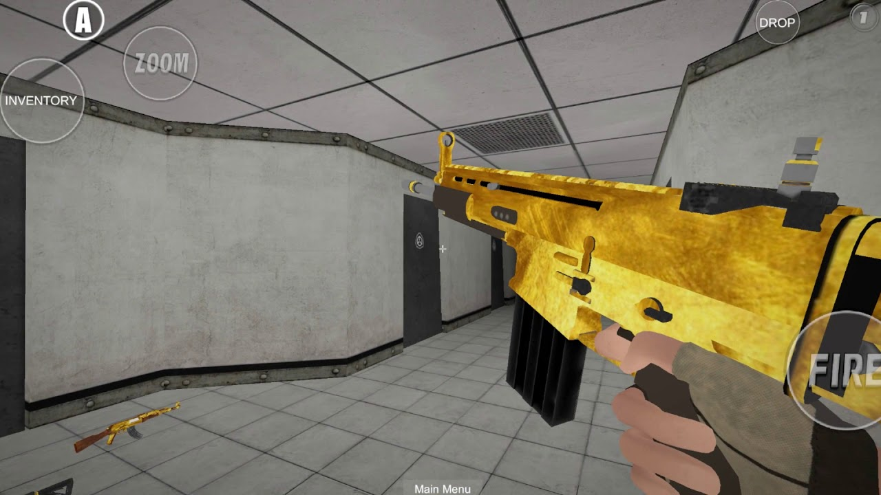 SCP: Site-19 Golden Skins by Mainv z