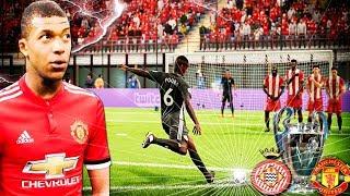 Final champions league ¡¡aÚn estoy en shock!!  girona vs manchester united | fifa 18 modo carrera