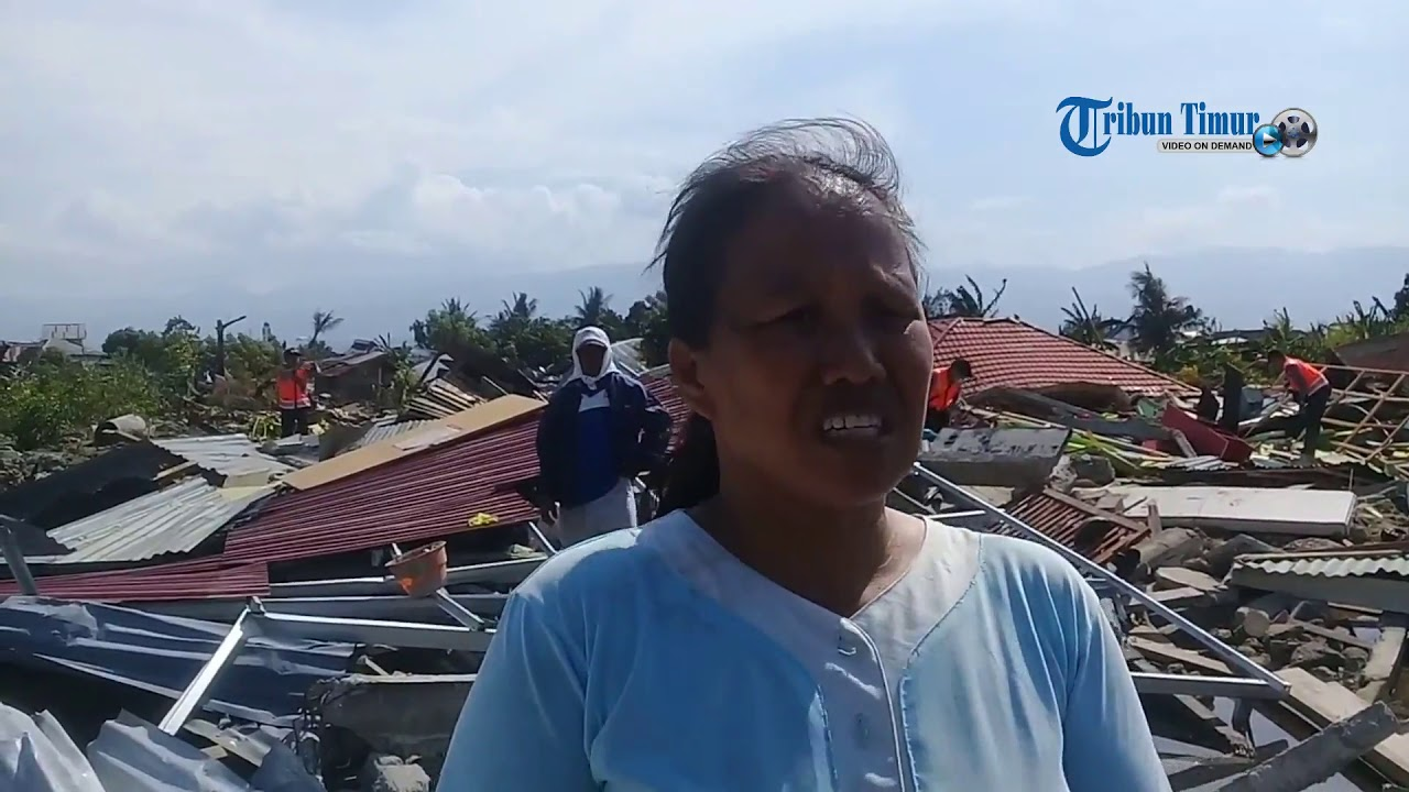 Cerita Rosna Selamat dari Tanah Amblas di Perumnas Balaroa Palu