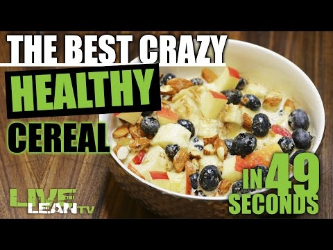 The Best Crazy Healthy Cereal in 49 Seconds