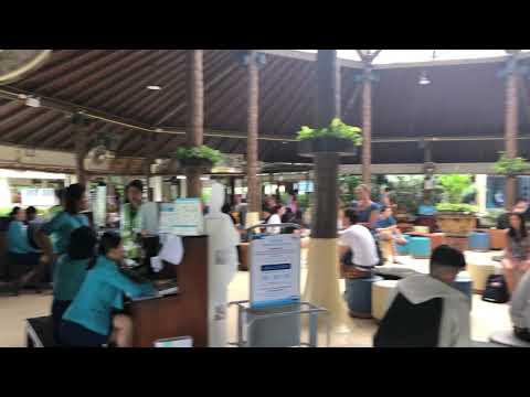 Waiting area at the airport - Koh Samui
