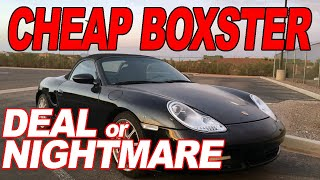 I Bought a Cheap  Porsche Boxster 986 - Deal of the Day or Total @#$%ing NIGHTMARE!?!