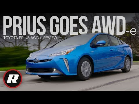 Toyota Prius AWD-e Review: More traction, same great efficiency
