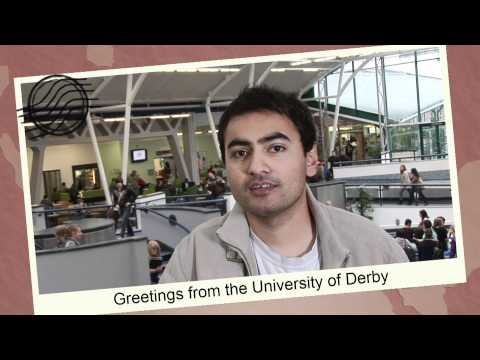 University of Derby - Postcard to India