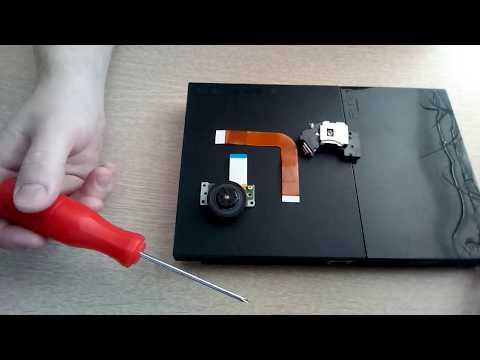 Ps2 Sony Playstation 2 ремонт своими руками, неисправности поломки