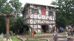 Das Hexenhaus auf dem Hexentanzplatz in Thale Freizeittipp im Harz Ausflugsziel im Harz