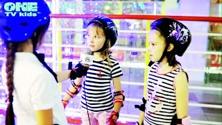 ONE TV Kids. Школа Роллер-Омск, обучение катанию на роликах
