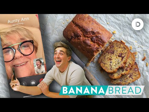 Where did my AUNT get this Banana Bread Recipe!?