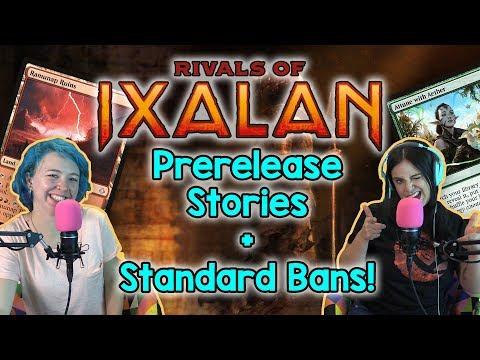 Shocking Standard BANS! Rivals of Ixalan 1st Impressions + More! | Magic the Gathering (MtG) Podcast