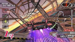 Tube Slider: The Championship of Future Formula GameCube Gameplay HD