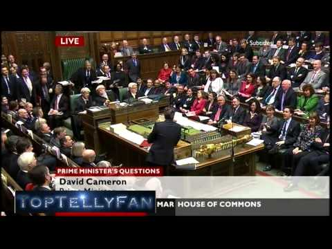 """Ed Balls is the most annoying person in modern politics"" says David Cameron (PMQ, 30.3.11)"
