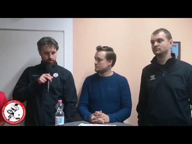 FASS on air: Testspiel FASS vs Eisbären Juniors - Pressekonferenz