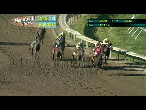 video thumbnail for MONMOUTH PARK 09-20-20 RACE 10 – THE SALVATOR MILE