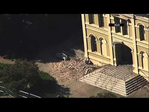 Raw: Aerial Look at Napa Quake Damage