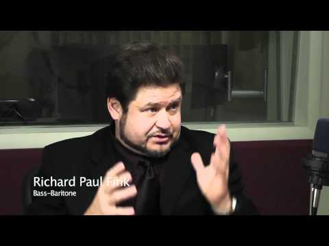 Richard Paul Fink, bass-baritone: Part 1
