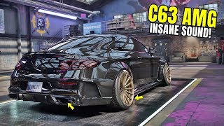 Need for Speed Heat Gameplay - 850HP+ MERCEDES-AMG C63 Coupe Customization | AMG C63 Max Build