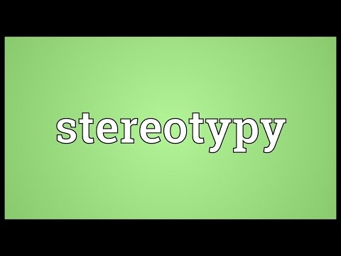 Header of stereotypy