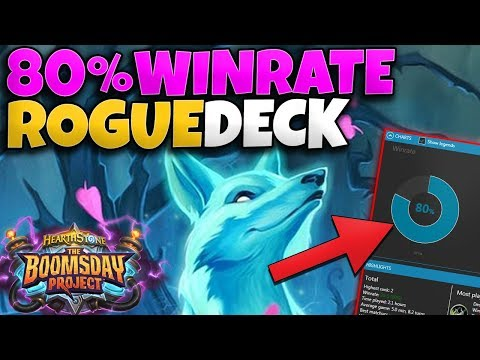 80% Win Rate Odd Rogue Deck - This Is The Best Deck To Climb The Ladder Right Now!   Hearthstone