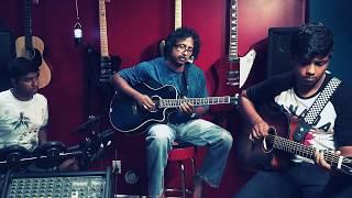 Chura Liya Hai Tumne Jo Dil Ko - Live Guitar Instrumental by Kumaran