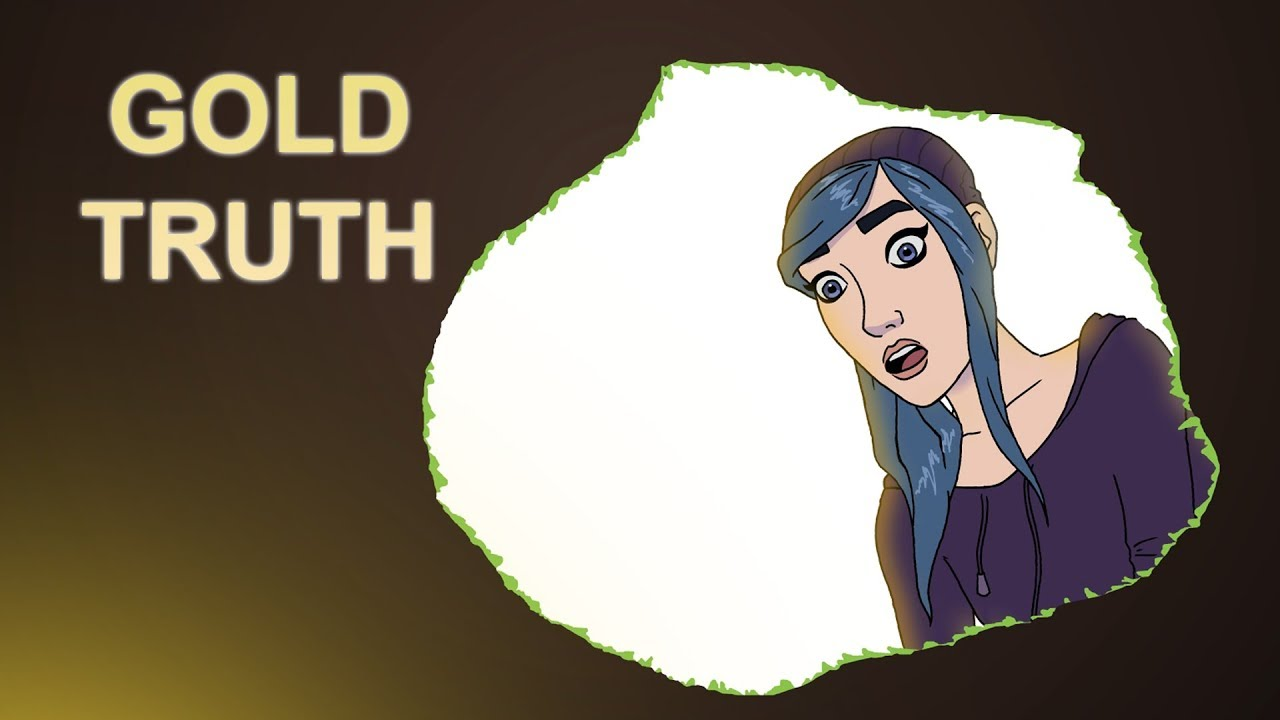2D Animated Short Film - Gold Truth by Jonathan. M. Lam