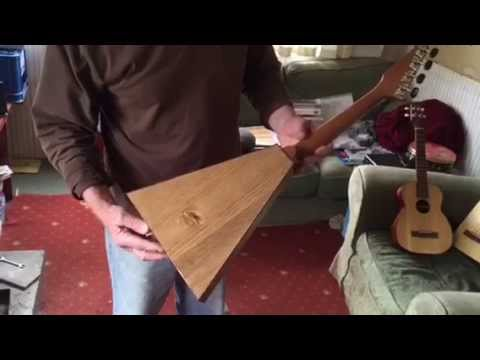 DIY Ukulele from Junk