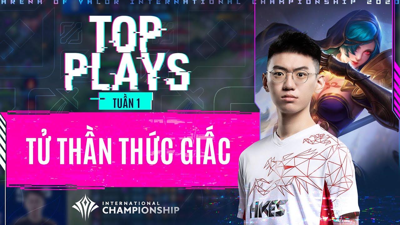 Ác mộng đường Ceasar, Mina gánh team trong tay HKA Outcast | TOP PLAYS #1 - AIC 2020