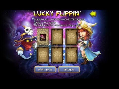 $1500 Gets You 170 Lucky Flips For Demogorgon Android Castle Clash