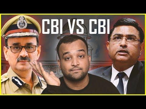 Alok Verma VS Rakesh Asthana   CBI VS CBI Controversy Explained In Hindi