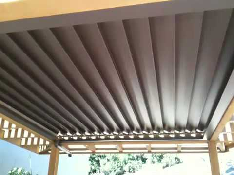 Ohmbrella Adjustable Louvers Youtube