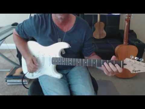 Stevie Ray Vaughan Scuttle Buttin' Guitar Tab Preview