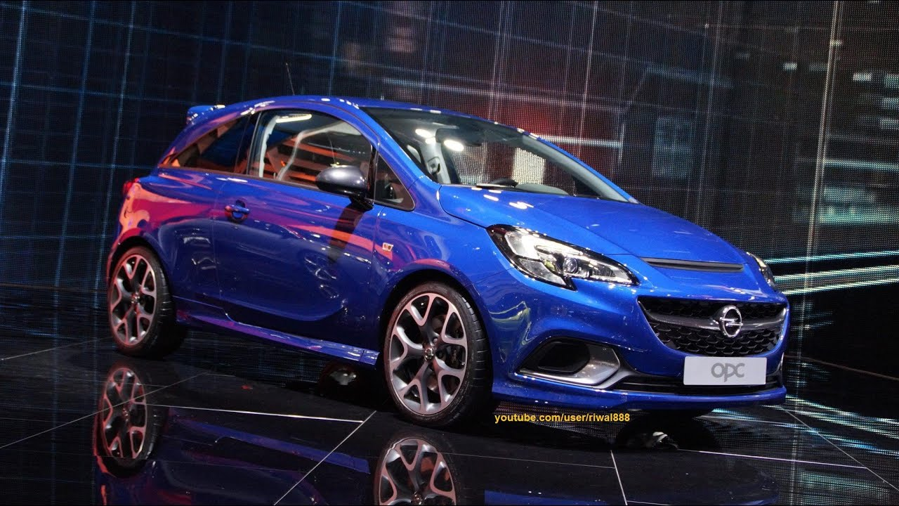 new opel corsa e opc performance package live at genf 2015 quad hd youtube. Black Bedroom Furniture Sets. Home Design Ideas