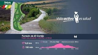 Paseo Saludable, Torreón de El Cortijo. Disfruta La Rioja