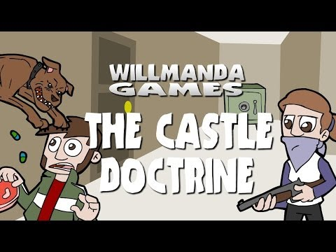 Let's Play the Castle Doctrine - Living in a Maze of Pit Bul