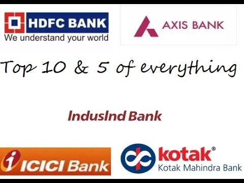 TOP 5  AMAZING BEST PRIVATE BANKS 2016 -INDIA