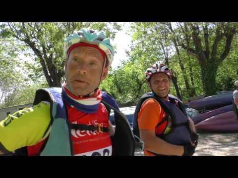 Raid Nature Vallon Pont d'Arc 2017 partie 1