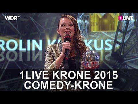 Comedy-Krone: Carolin Kebekus | 1LIVE Krone