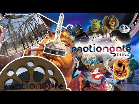 Motiongate Theme Park, Dubai 2019 All Rides – Full 4K Tour