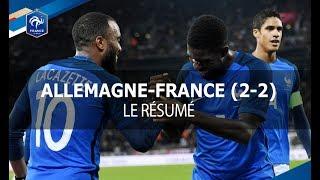 Équipe de France : Allemagne - France (2-2), le résumé I FFF 2017