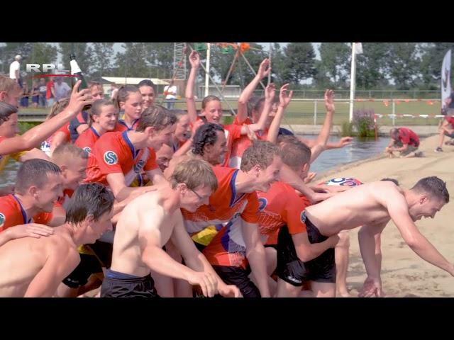 Tweekamp polsstokverspringen Holland Friesland Linschoten 2018
