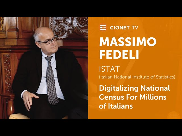 Massimo Fedeli – ISTAT – Digitalizing National Census For Millions of Italians