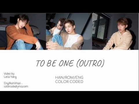 Free Download Wanna One (워너원) - To Be One (outro) [eng/rom/han] Mp3 dan Mp4