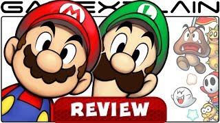 Mario & Luigi: Superstar Saga + Bowser's Minions - REVIEW (3DS)