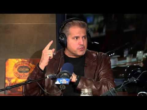 The Artie Lange Show - AJ Benza (in-studio) Part 1