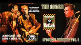 The Clash - Live At The Lyceum, October 18, 1981 (Full Concert!)