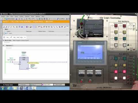 Adding Animation to a Siemens HMI - Unit 22.1