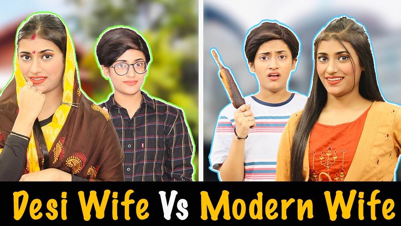 Desi Wife Vs. Modern Wife | SAMREEN ALI