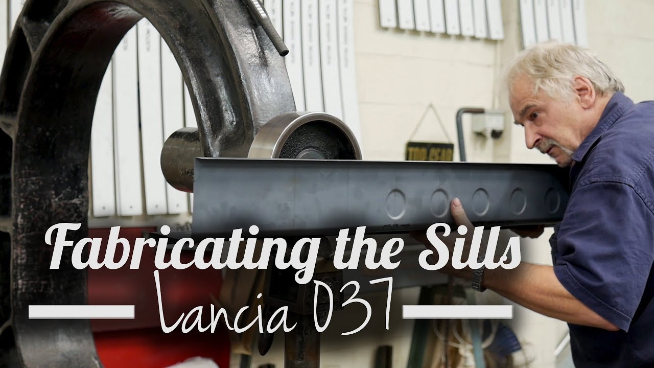 Lancia 037 Fabricating the Sills